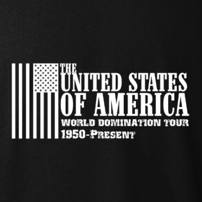 polopokol USA World Domination Tour fekete